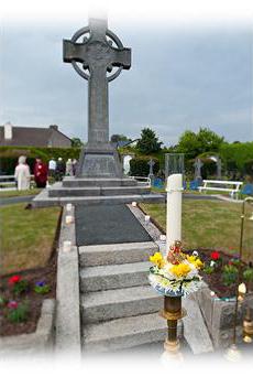 Teresa Ball's grave